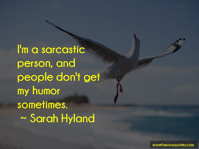 Quotes About Sarcastic Person