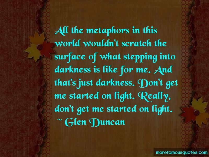 Quotes About Stepping Into Darkness