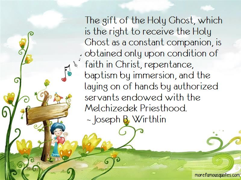 The Melchizedek Priesthood Quotes Pictures 3