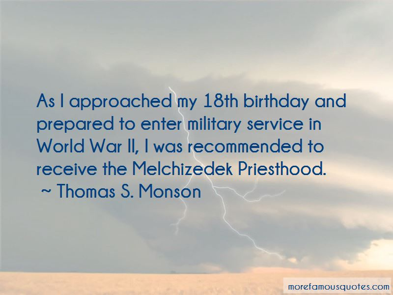 Quotes About The Melchizedek Priesthood