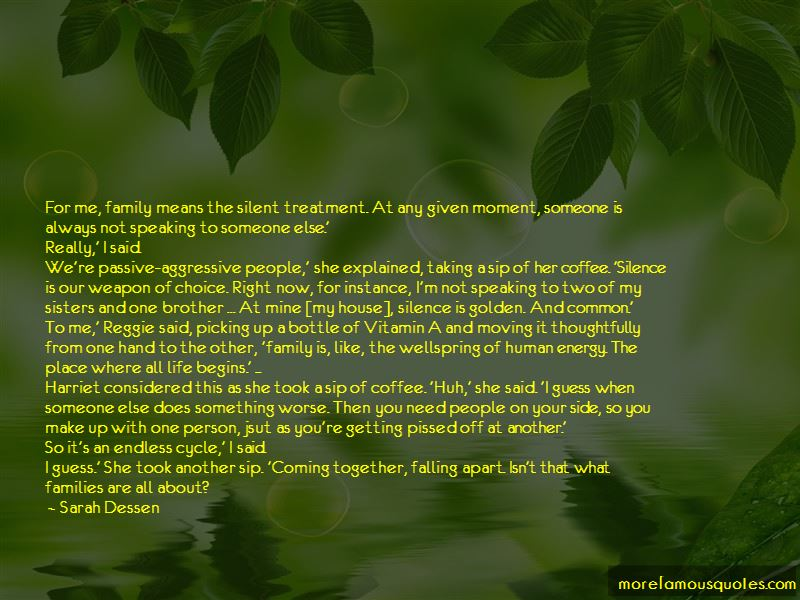 Quotes About Two Families Coming Together