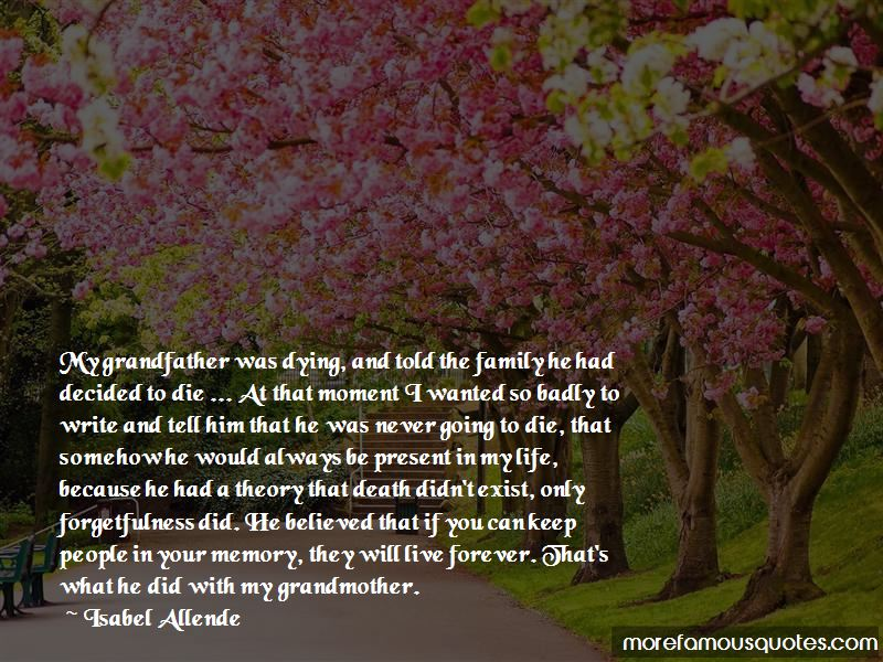Quotes About Your Grandfather Dying