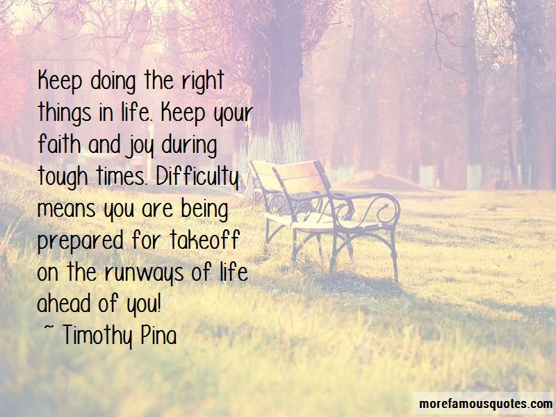 Right Things In Life Quotes