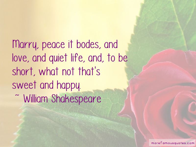 Short And Sweet Peace Quotes: top 1 quotes about Short And ...