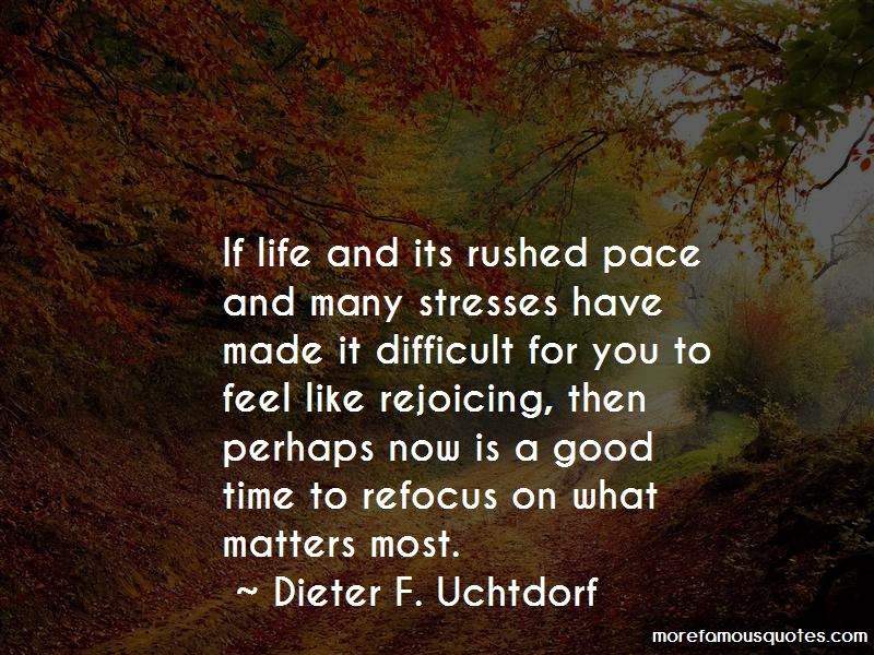 Time To Refocus Quotes Pictures 3