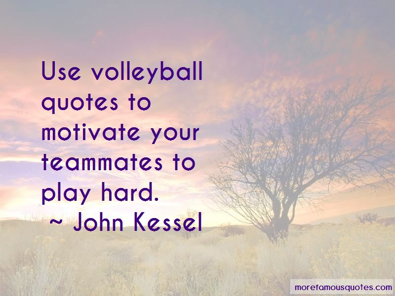 Volleyball Teammates Quotes