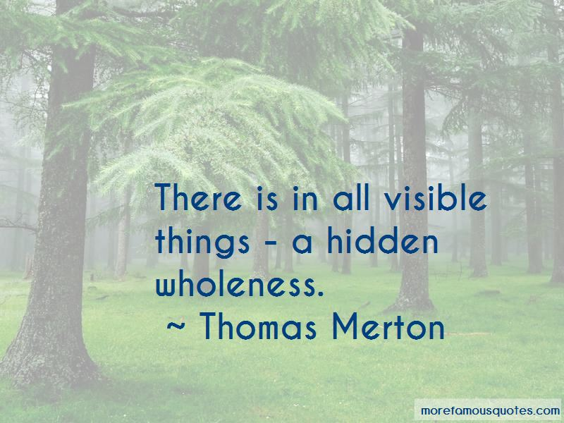 A Hidden Wholeness Quotes