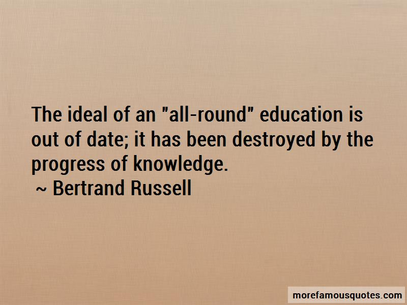 All Round Education Quotes