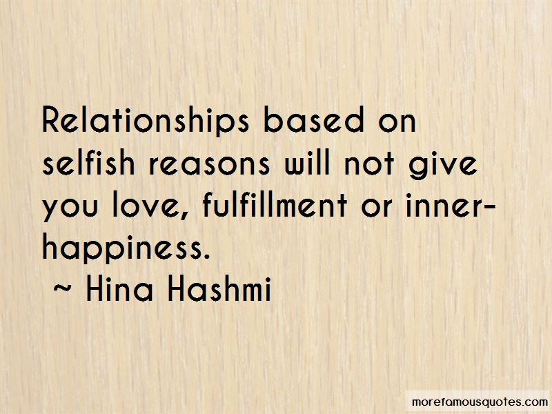 Love Fulfillment Quotes