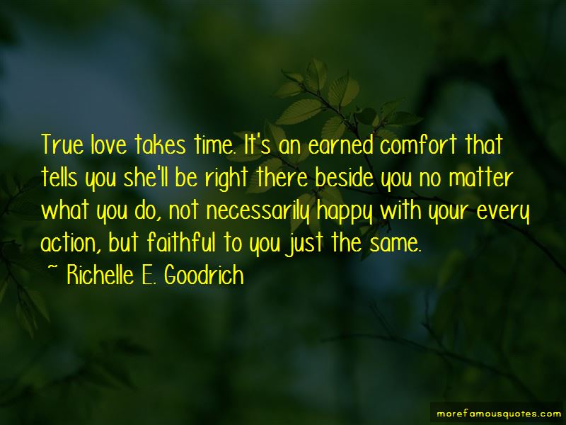 Love In Right Time Quotes