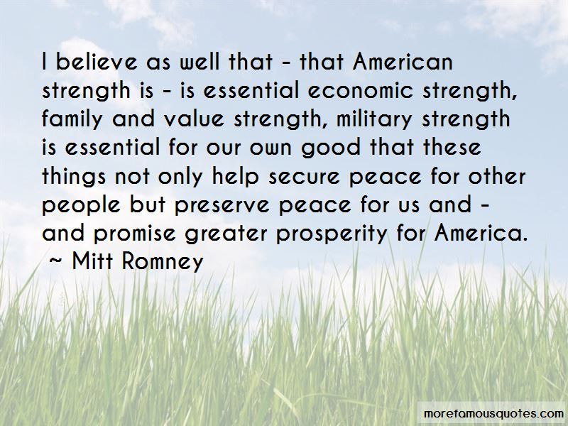 Military Family Strength Quotes