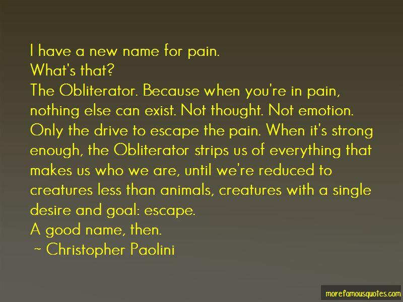 Obliterator Quotes