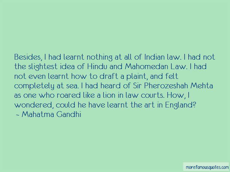 Pherozeshah Mehta Quotes