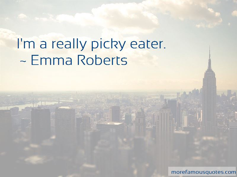 Picky Eater Quotes