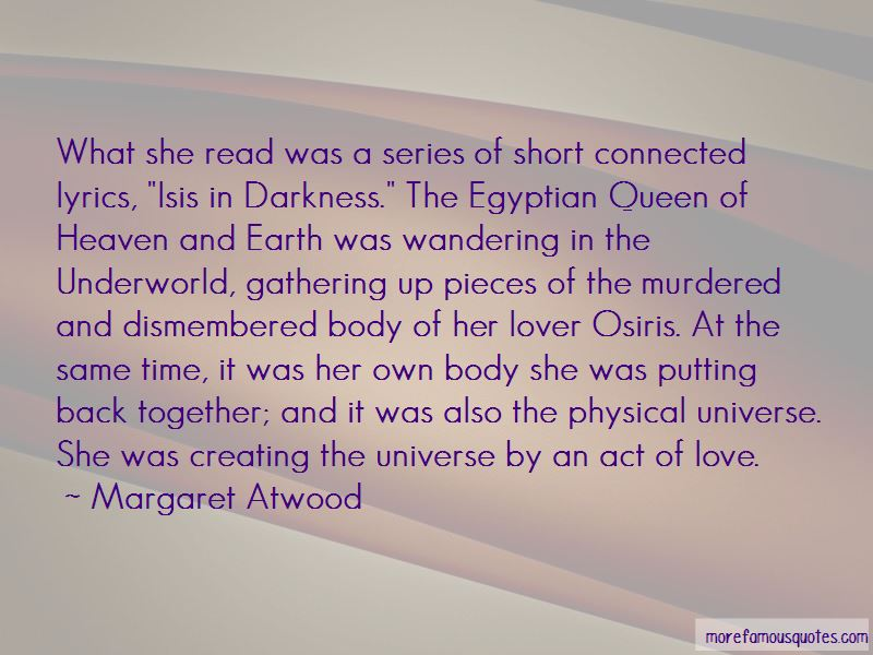 Queen Isis Quotes Top 2 Quotes About Queen Isis From Famous Authors