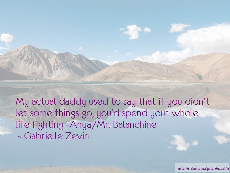 Quotes About Balanchine