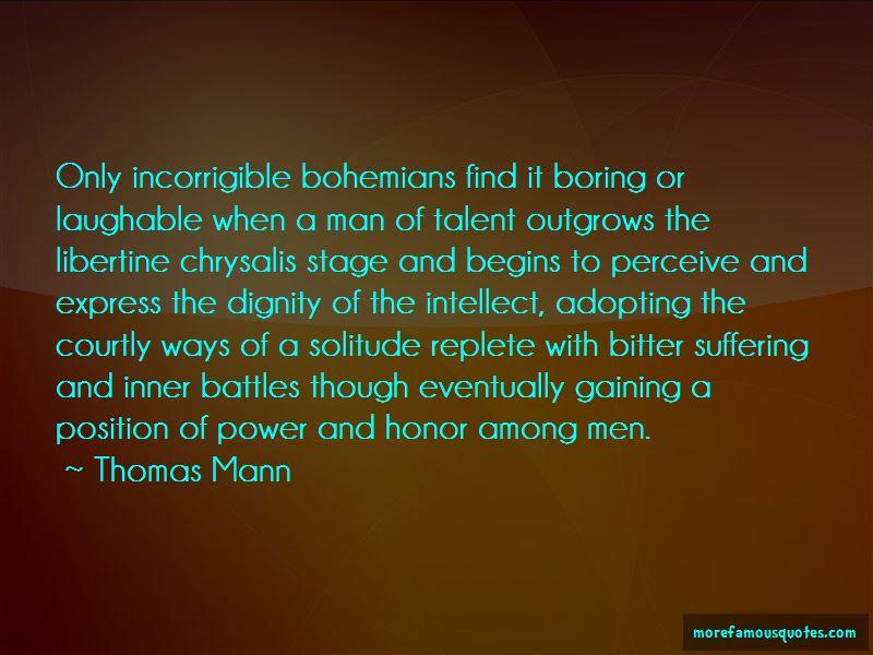 Quotes About Bohemians