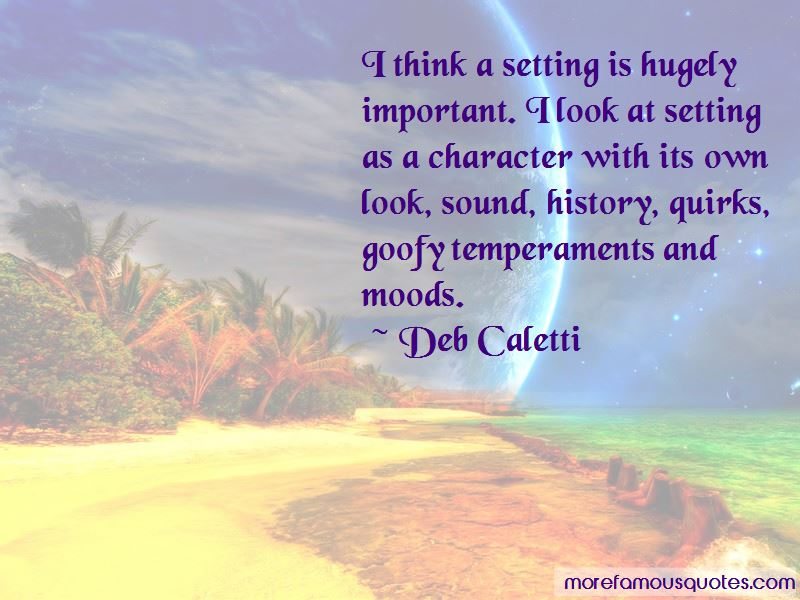 Character And Setting Quotes Pictures 2