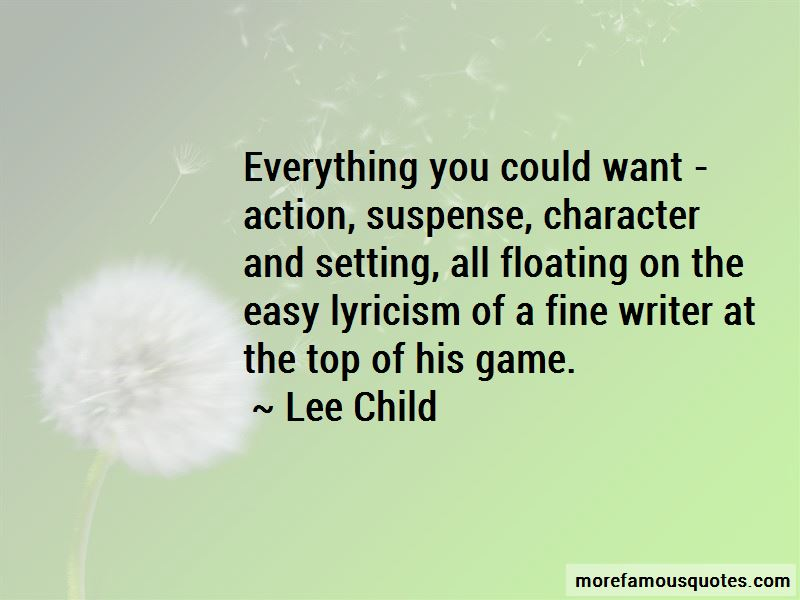 Quotes About Character And Setting