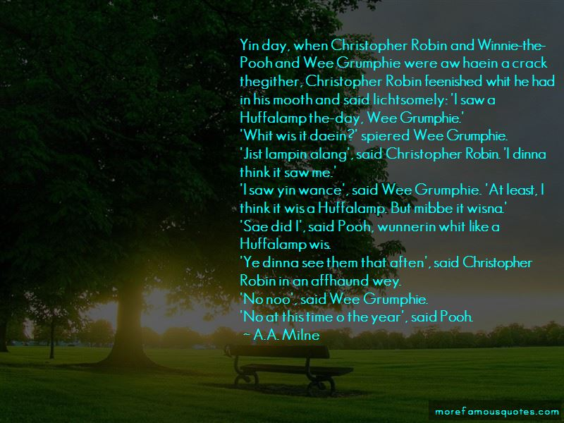 Quotes About Christopher Robin