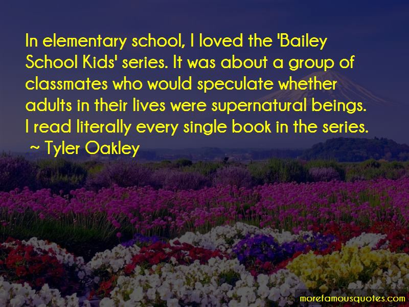 Quotes About Classmates In Elementary