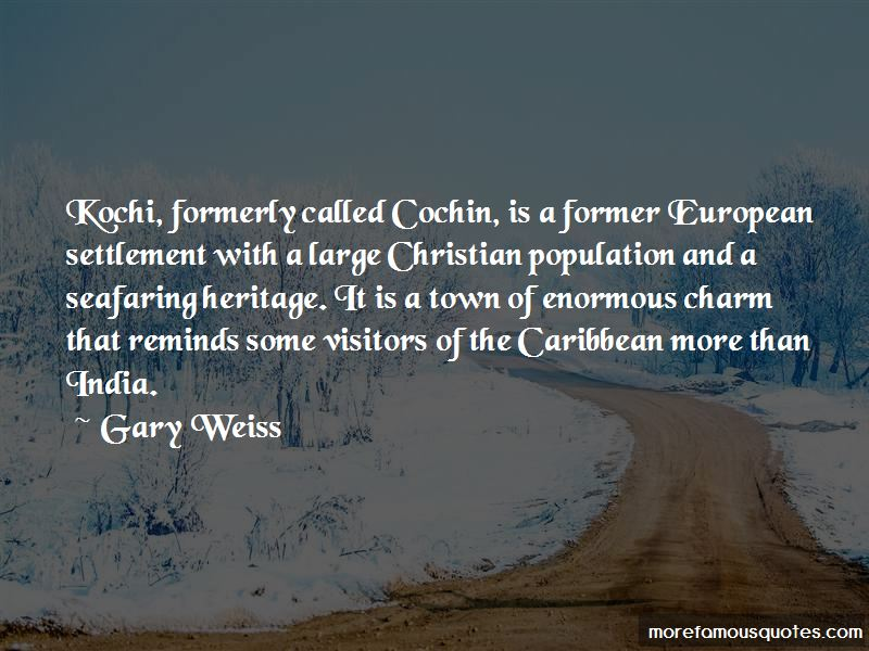Quotes About Cochin