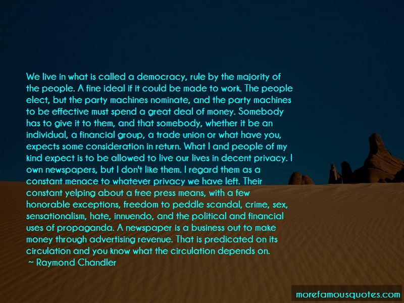 Democracy And Free Press Quotes Pictures 4