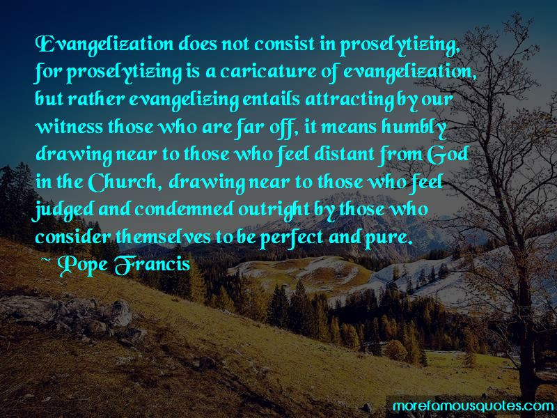 Quotes About Evangelization