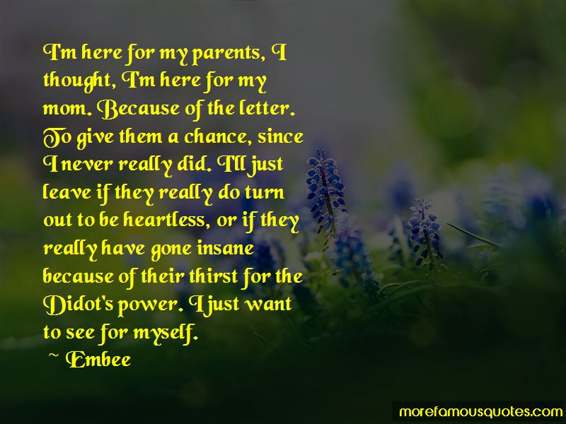 Quotes About Heartless Parents