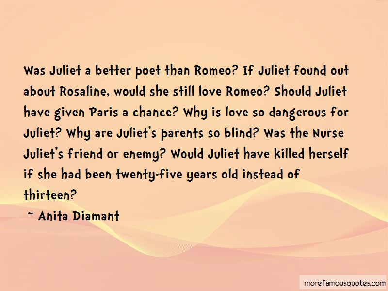 Quotes About Love From The Nurse In Romeo And Juliet