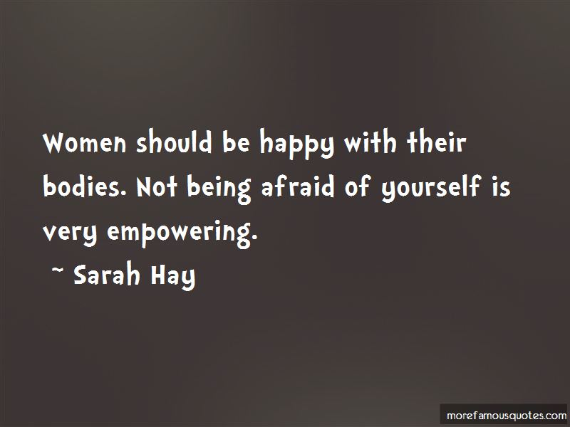 Not Being Afraid To Be Happy Quotes Pictures 2