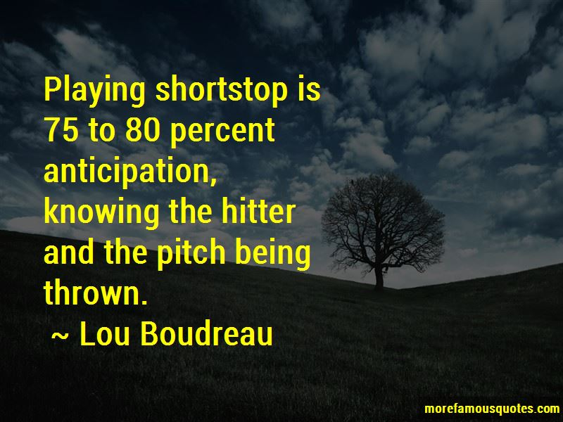 Quotes About Playing Shortstop