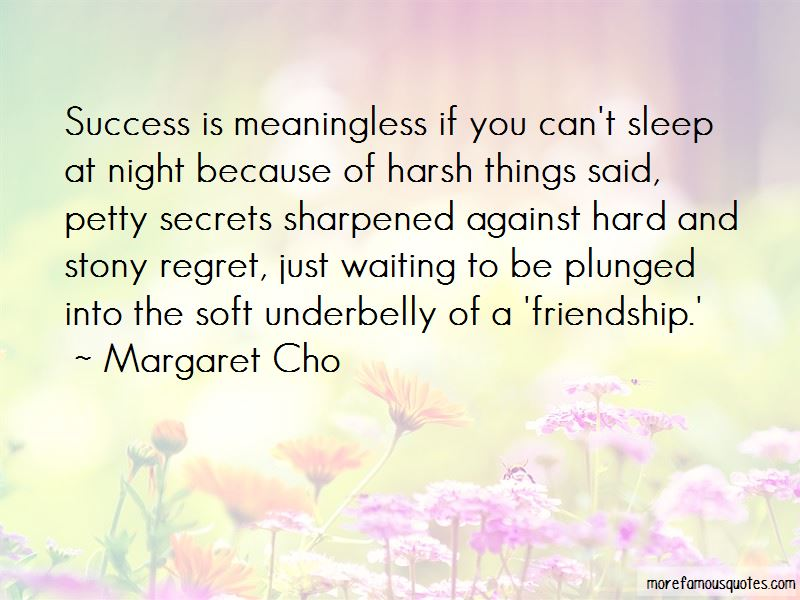 Quotes About Regret And Friendship