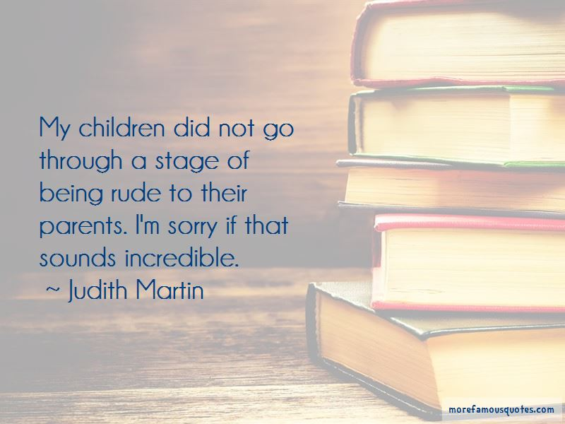 Quotes About Rude Parents