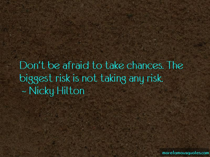 Taking Risk And Chances Quotes Pictures 2