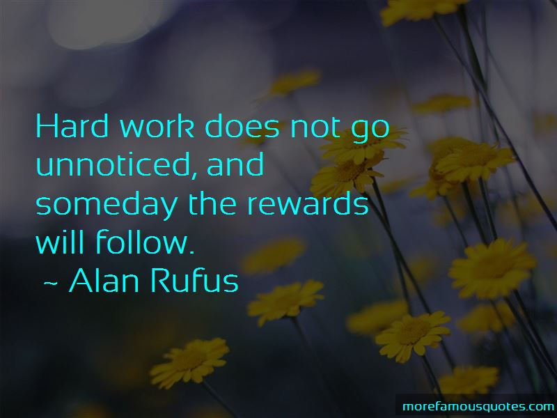 Quotes About Unnoticed Hard Work