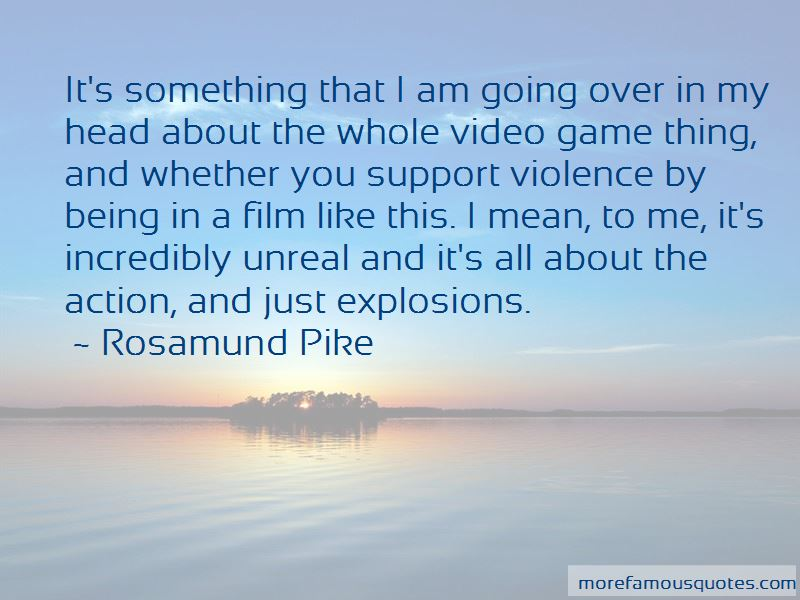Quotes About Video Game Violence