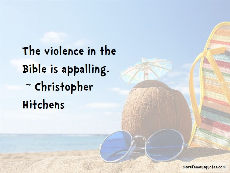 Quotes About Violence In The Bible