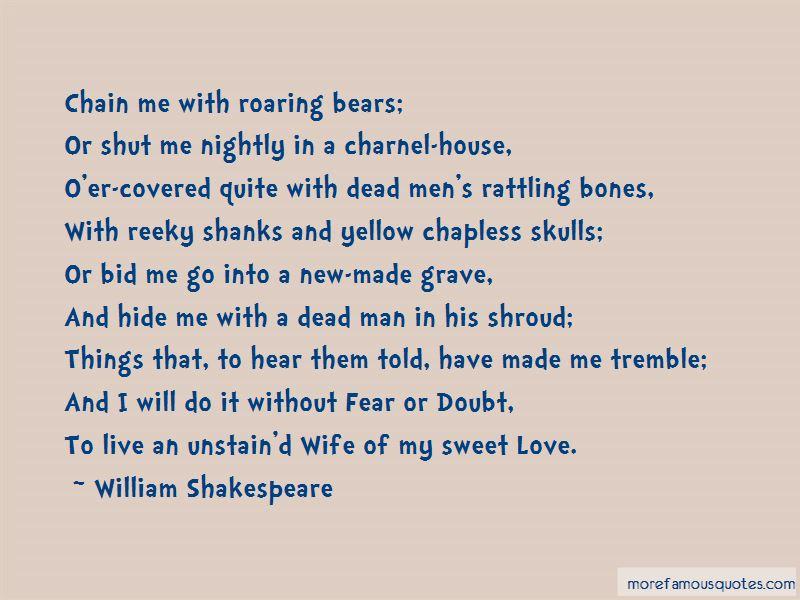 Rattling Bones Quotes