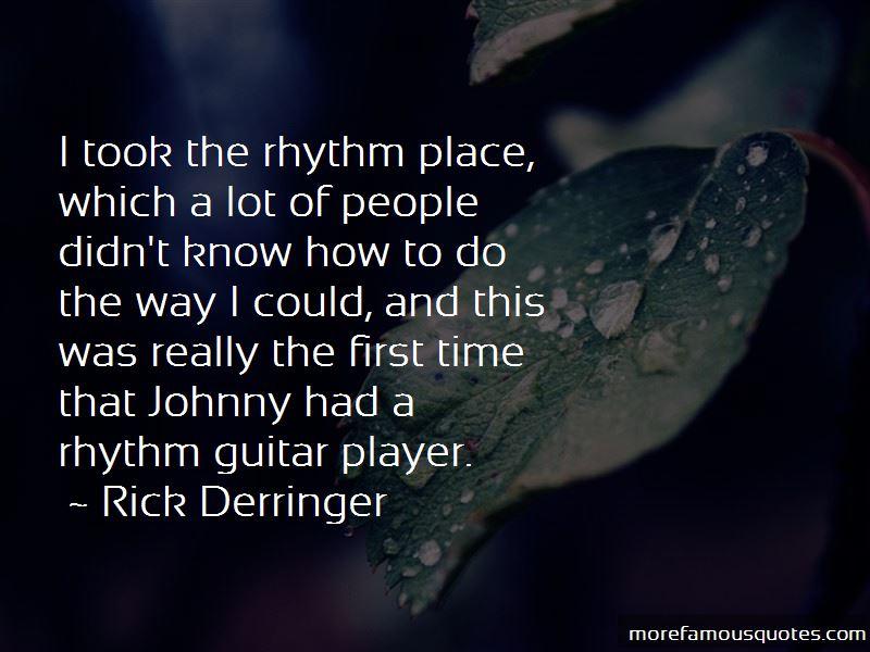 Rhythm Guitar Quotes