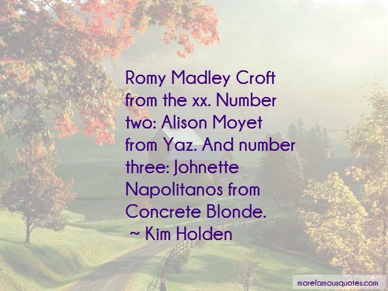 Romy Madley Croft Quotes