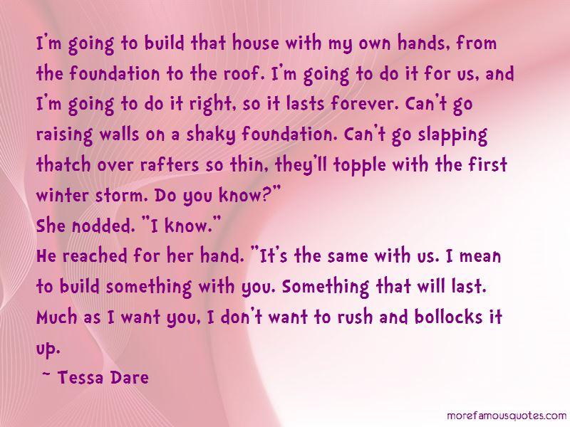 Shaky Foundation Quotes