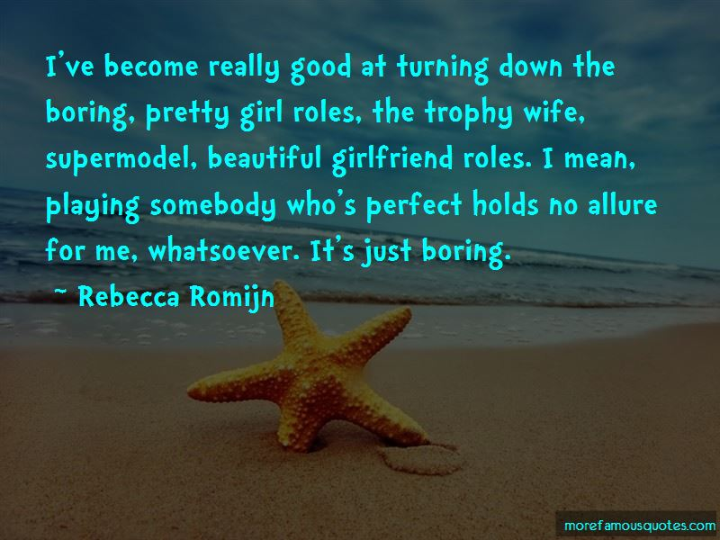 Trophy Girlfriend Quotes