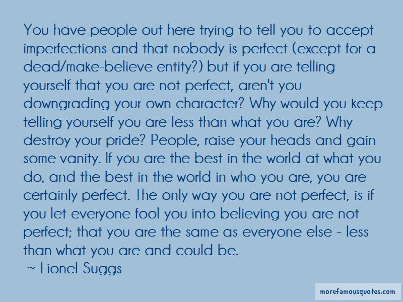 Accept For Who I Am Quotes