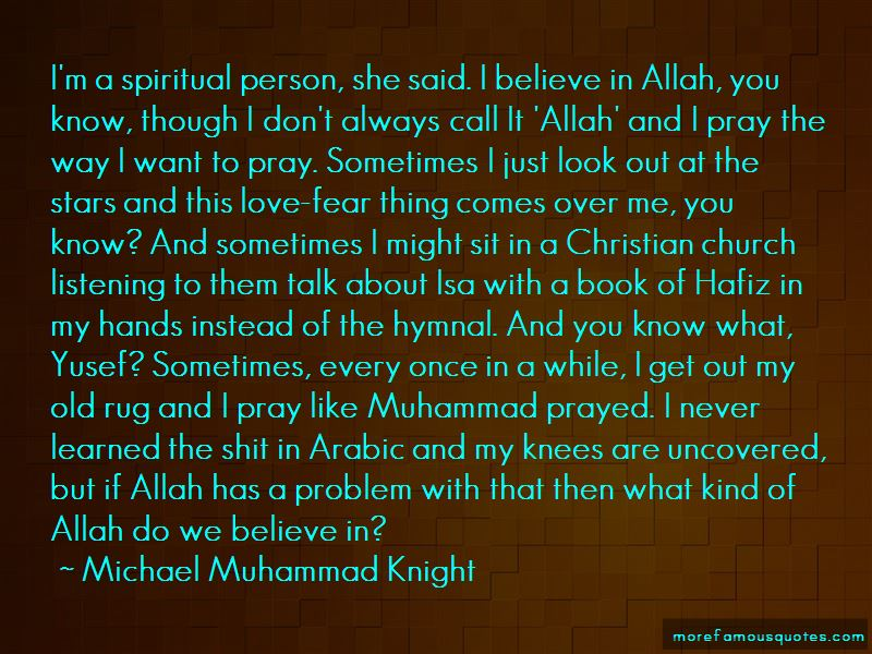 Allah Love Me Quotes