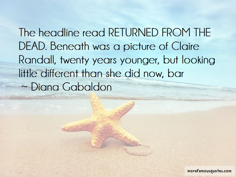 Claire Randall Quotes Pictures 2