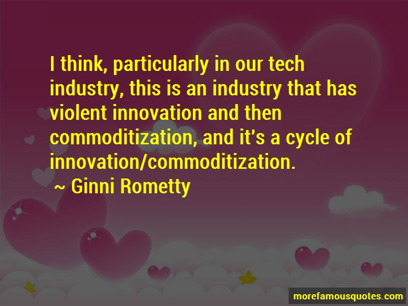 Commoditization Quotes