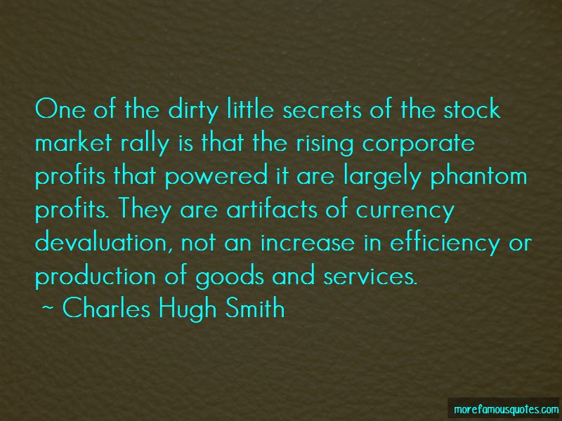 Currency Devaluation Quotes