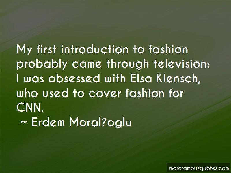 Elsa Klensch Quotes