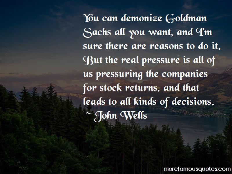 Goldman Sachs Stock Quotes